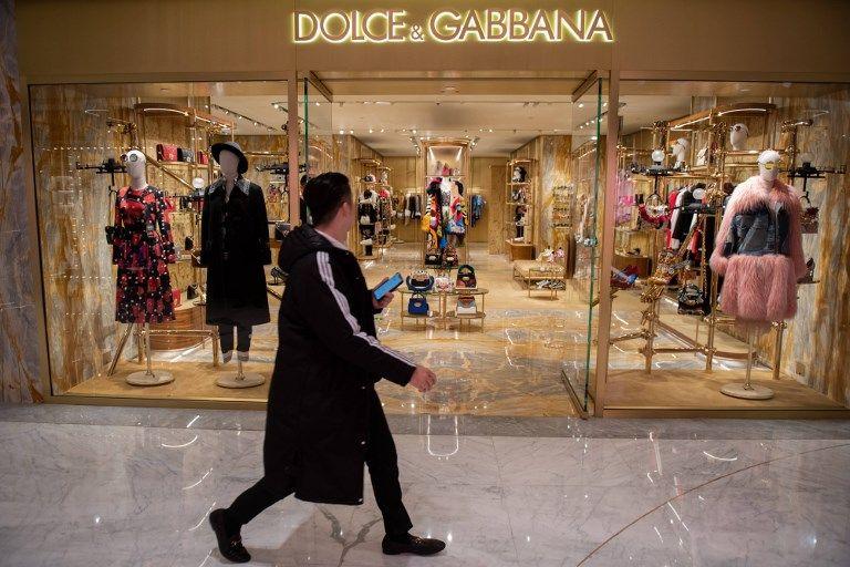 Dolce & Gabbana : des sites de e-commerce en Chine retirent massivement des produits de la marque italienne
