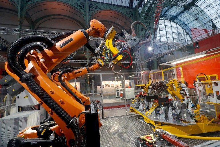 Un ouvrier empalé par sa propre machine