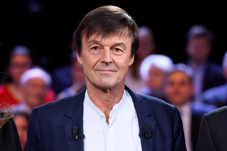 """Nicolas Hulot appelle à l'unité dans la """"guerre"""" contre le dérèglement climatique"""
