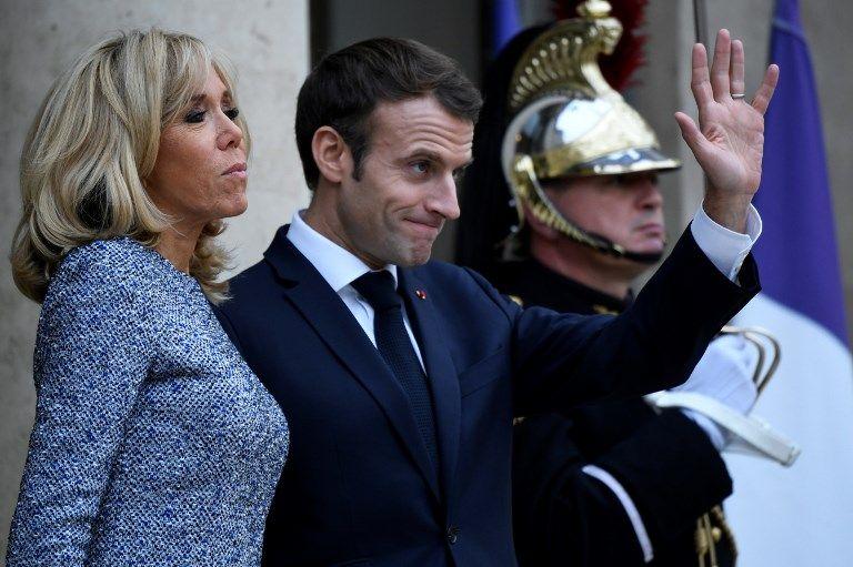L'Elysée dissipe les rumeurs de tensions entre Emmanuel et Brigitte Macron