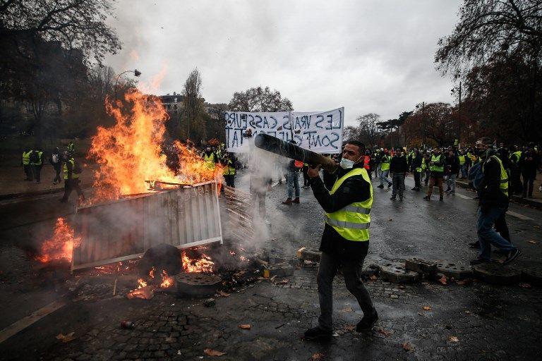 Gilets Jaunes, la colère et le mépris