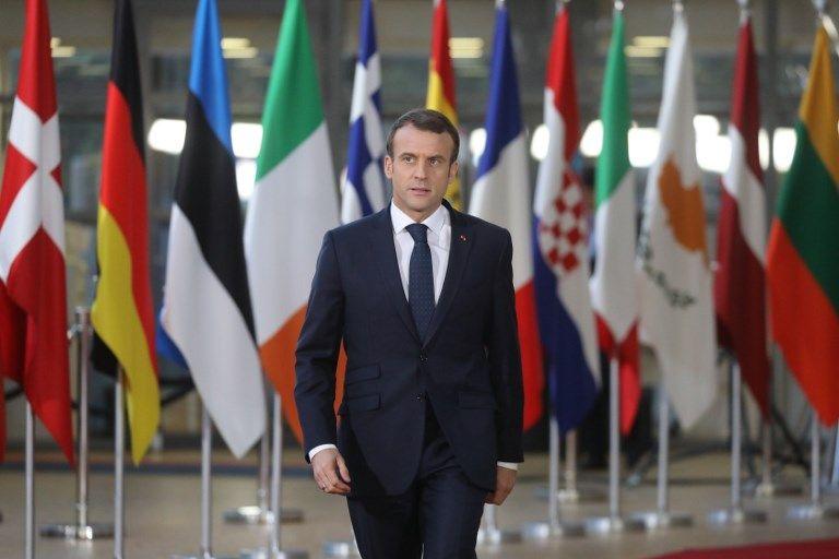 Emmanuel Macron en déplacement à Biarritz le mardi 18 décembre pour préparer le G7