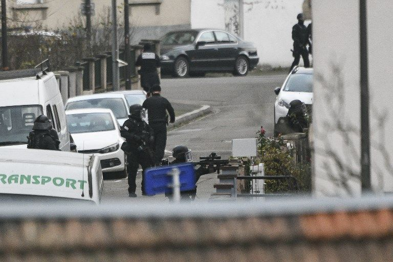 Opération policière au Neudorf