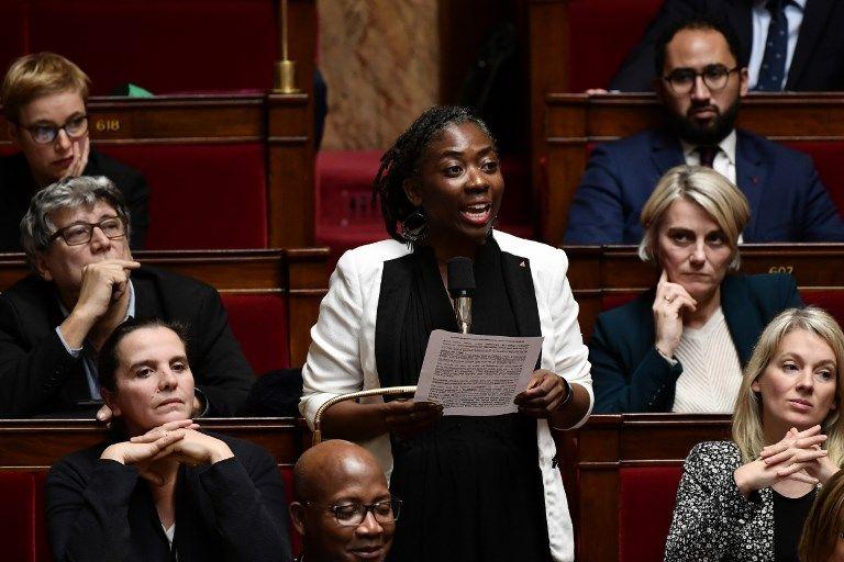 Daniele Obono au Parlement (archives)
