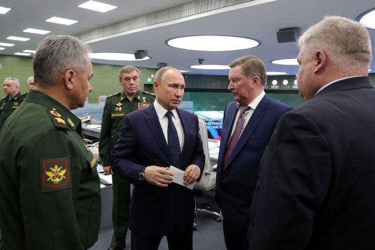 Vladimir Poutine se félicite du succès du nouveau missile hypersonique Avangard