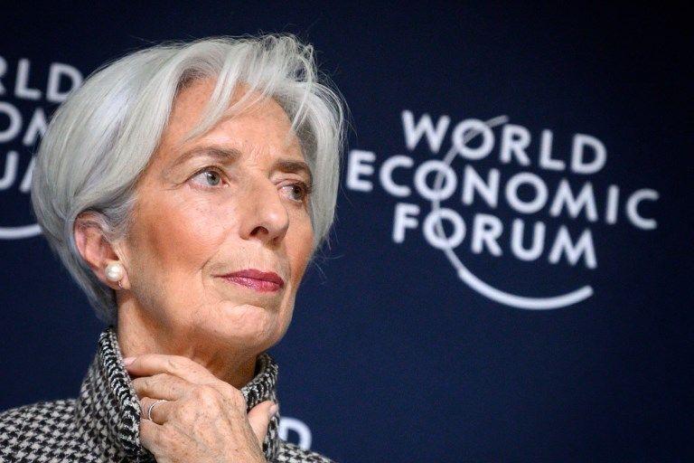 Christine Lagarde, la directrice du FMI, prévient d'un risque grave de tempête mondiale mais personne ne semble l'entendre