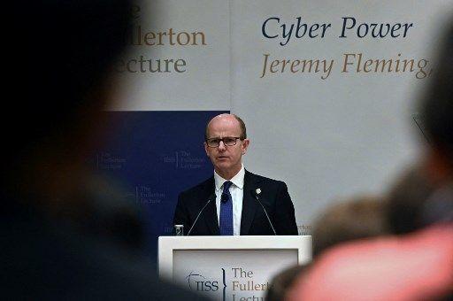 Jeremy Fleming, directeur du GCHQ, la branche du renseignement britannique chargée des interceptions et de la sécurité.