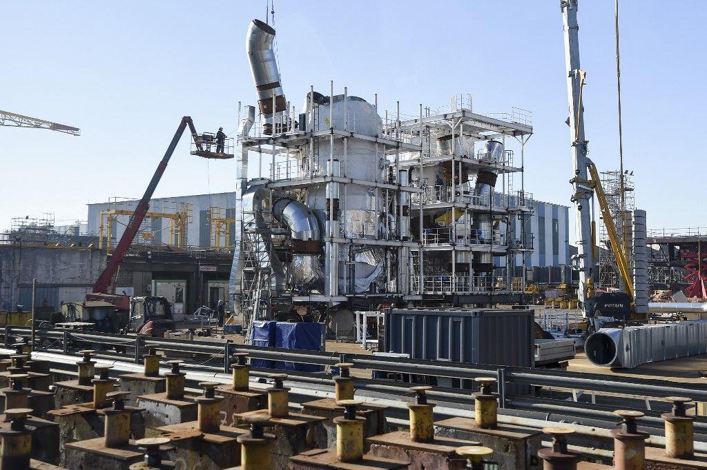 chantiers de l'Atlantique industrie Saint-Nazaire