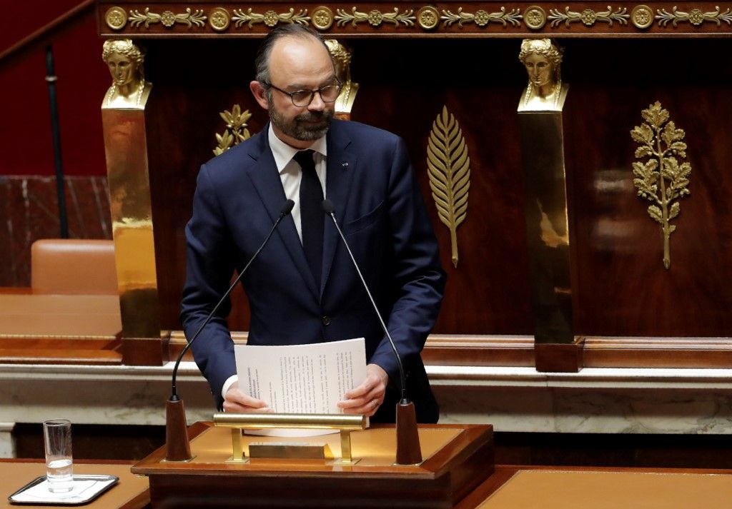 Edouard Philippe - AFP