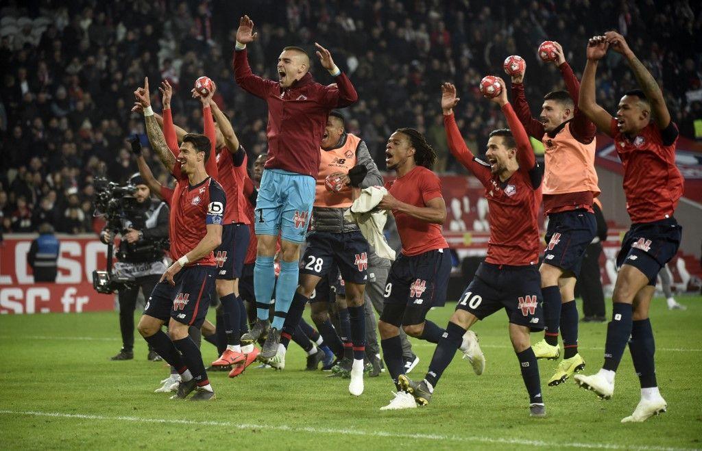 Lille/PSG: 5/1 Les Parisiens passent encore à côté du titre et explosent en plein vol au stade Pierre Mauroy
