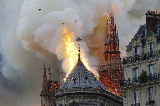 Le coupable dans l'incendie de Notre-Dame : le progressisme