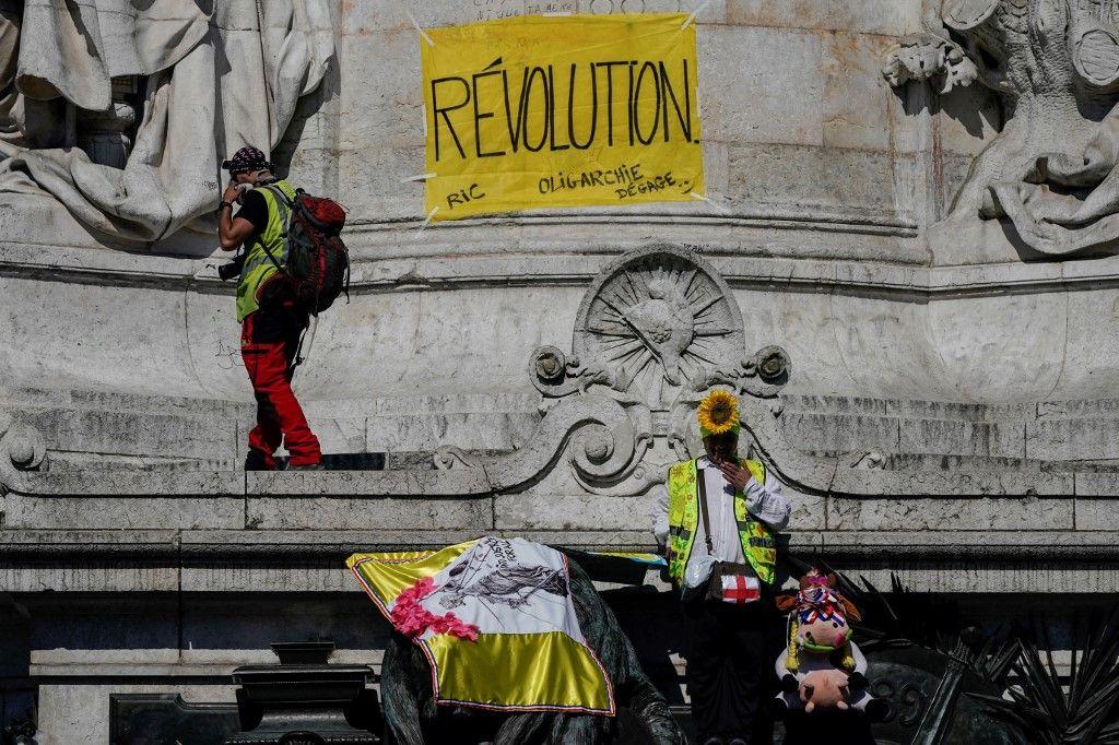 """1er Mai : les Gilets jaunes se préparent pour  l'""""acte ultime"""""""