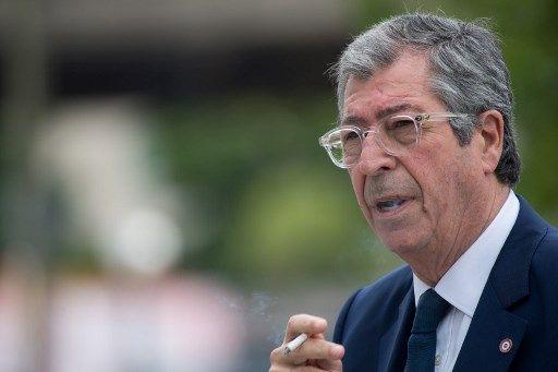 Après son procès, Patrick Balkany a participé à la fête de l'été à Levallois-Perret