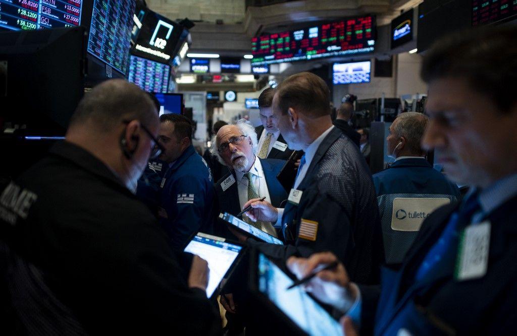 Avec un moral au beau fixe, les boursiers peuvent remercier Donald Trump...