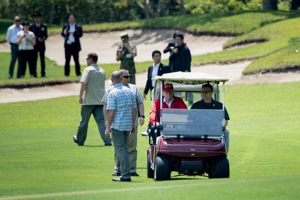 Donald Trump : les parties de golf du président américain auraient coûté 115 millions de dollars à l'Etat américain