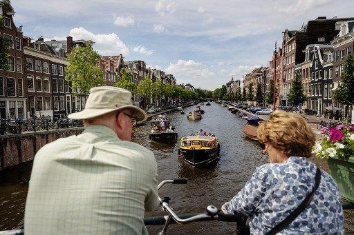 La barrière à bulles est testée notamment dans les canaux d'Amsterdam.