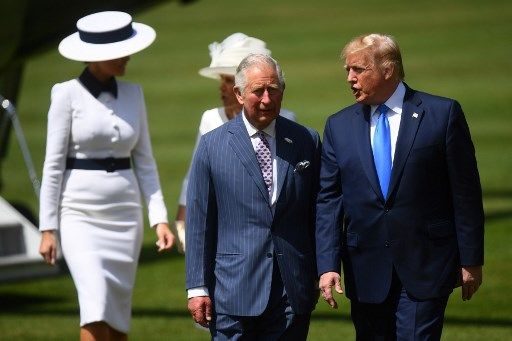 Donald Trump fait une faute de frappe sur Twitter sur le Prince Charles qui devient le Prince des Baleines