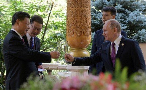 Xi Jinping et Vladimir Poutine, en juin 2019.
