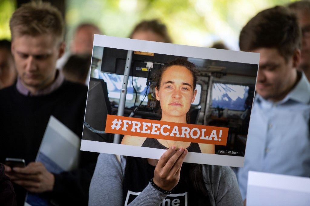 Affaire de la libération de la capitaine de la Sea Watch III Carola Rackete : le coup d'Etat judiciaire
