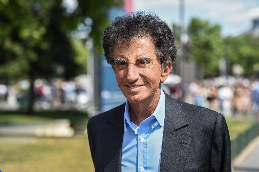 Le président de l'Institut du Monde Arabe, Jack Lang, lors d'une visite au Grand Palais à Paris, en juillet 2019.
