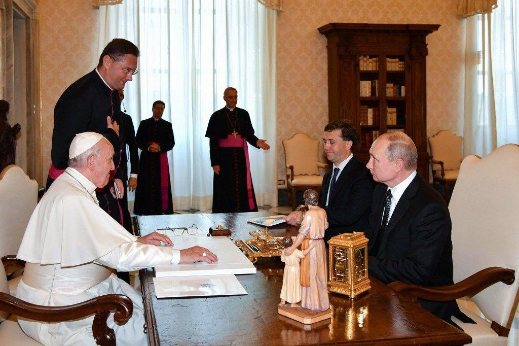 Poutine au Vatican : le Pape, combien de divisions aujourd'hui ?