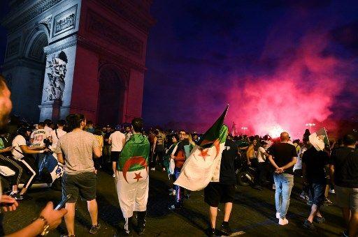 Nombreux incidents en marge de la victoire de l'Algérie