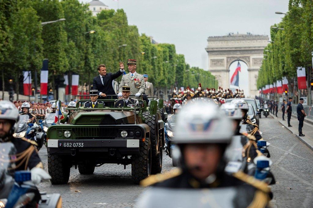 Covid-19 : aucune décision n'a encore été prise pour les célébrations du 14 Juillet et pour le défilé militaire