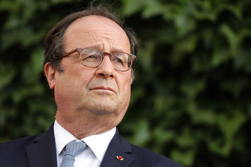 François Hollande rend hommage aux personnels des Ehpad après la mort de son père