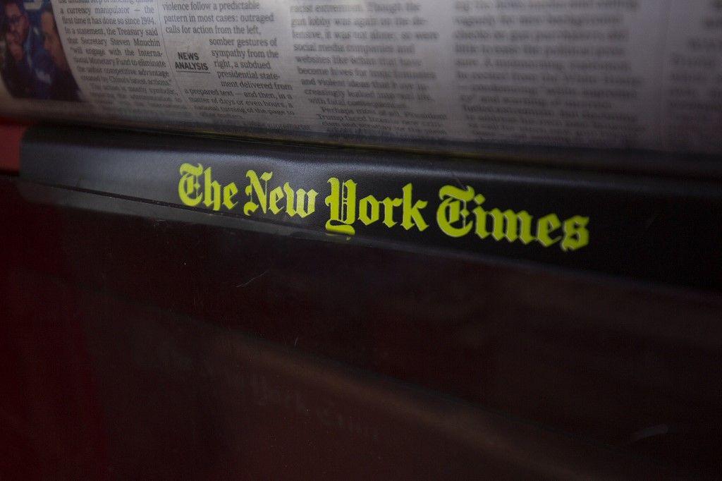 New York Times médias