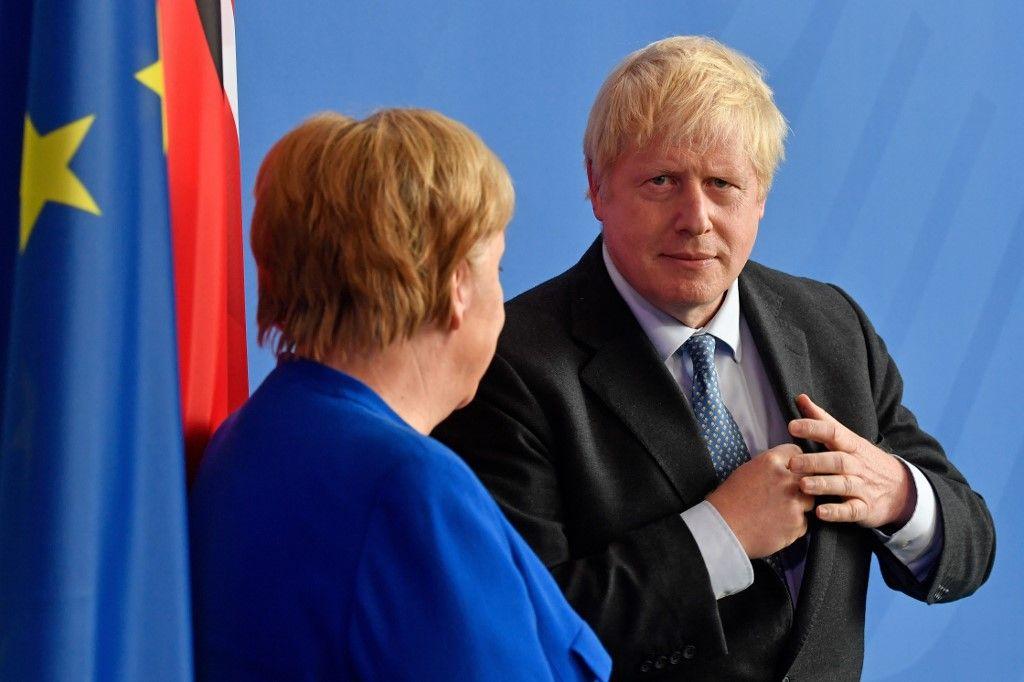 Rencontres diplomatiques : Boris Johnson pourrait-il profiter du désaccord entre Paris et Berlin sur le Brexit ?