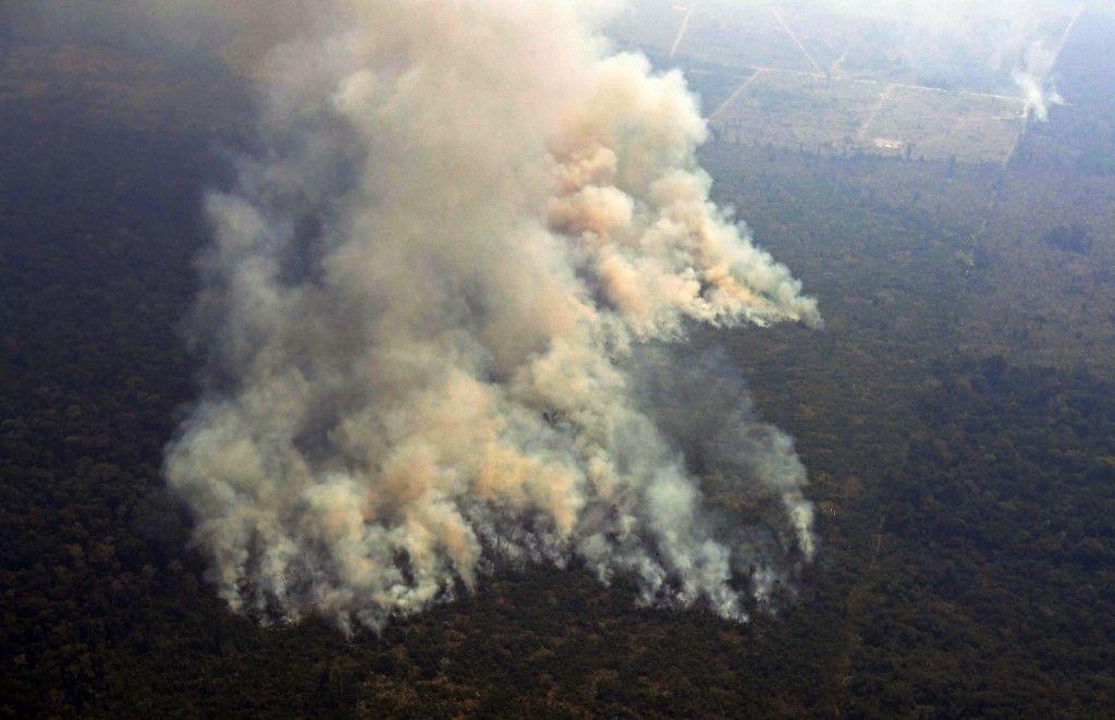 Derrière les feux en Amazonie, la guerre commerciale entre la Chine et les Etats-Unis