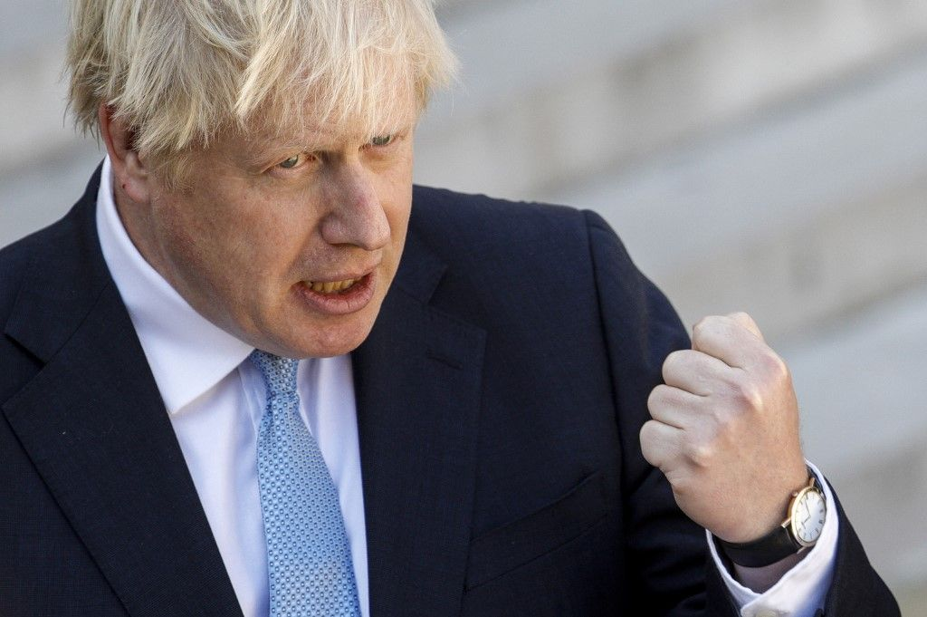 Brexit: le rapport secret mais officiel du gouvernement britannique est peut-être en train de faire évoluer Boris Johnson...