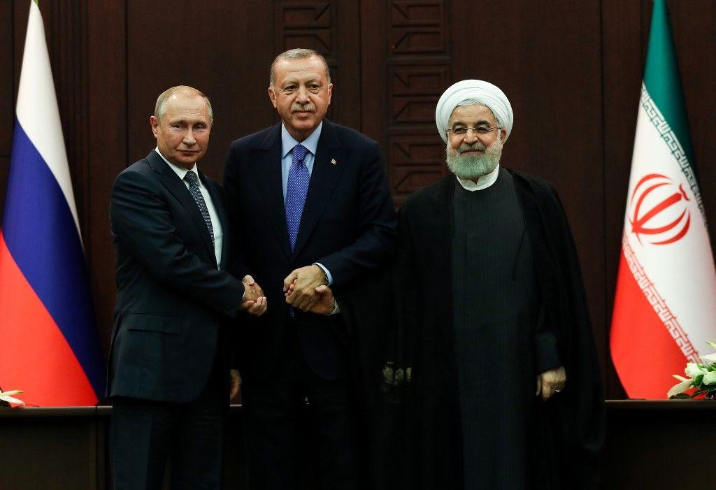 L'avenir de la Syrie au cœur de la réunion tripartite entre l'Iran, la Turquie et la Russie