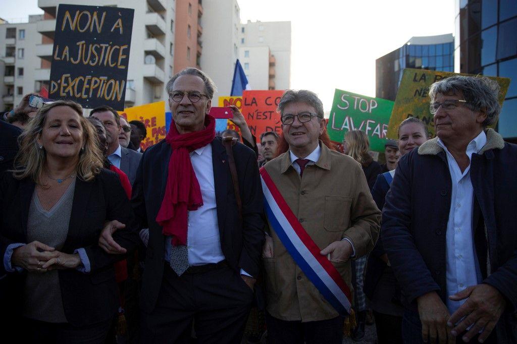 Trois mois de prison avec sursis requis contre Jean-Luc Mélenchon