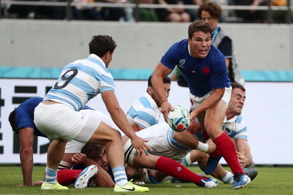Coupe du monde de rugby au Japon : première victoire pour le XV de France face à l'Argentine (23-21)