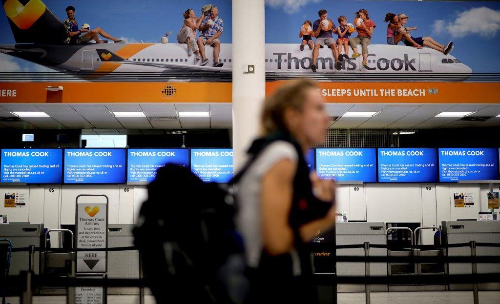 10 000 Français bloqués à l'étranger après la faillite de Thomas Cook