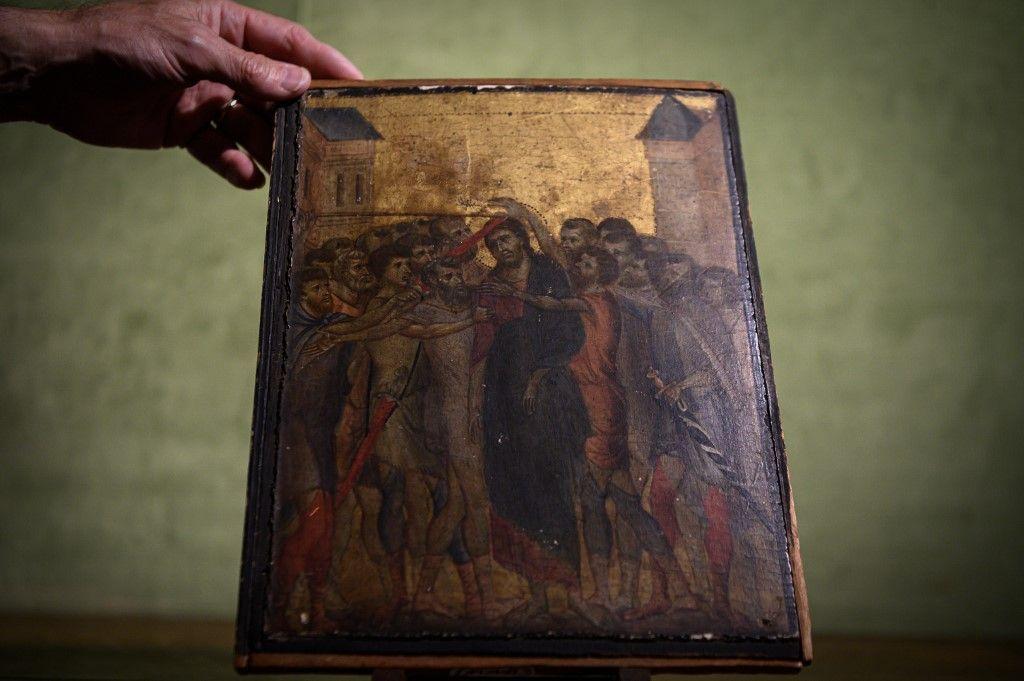 Un tableau de Cimabue daté du 13ème siècle retrouvé dans une maison de l'Oise