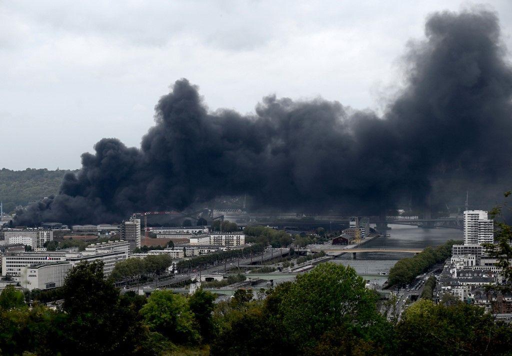 Incendie à Rouen : le Ministère de l'Intérieur donne ses consignes de sécurité