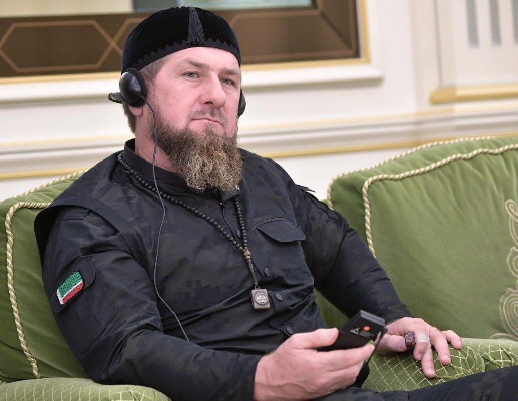 Ramzan Kadyrov Tchétchénie Emmanuel Macron caricatures