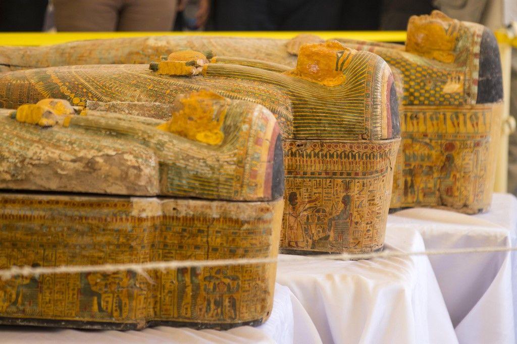 Egypte : découverte exceptionnelle de trente sarcophages de plus de 3.000 ans