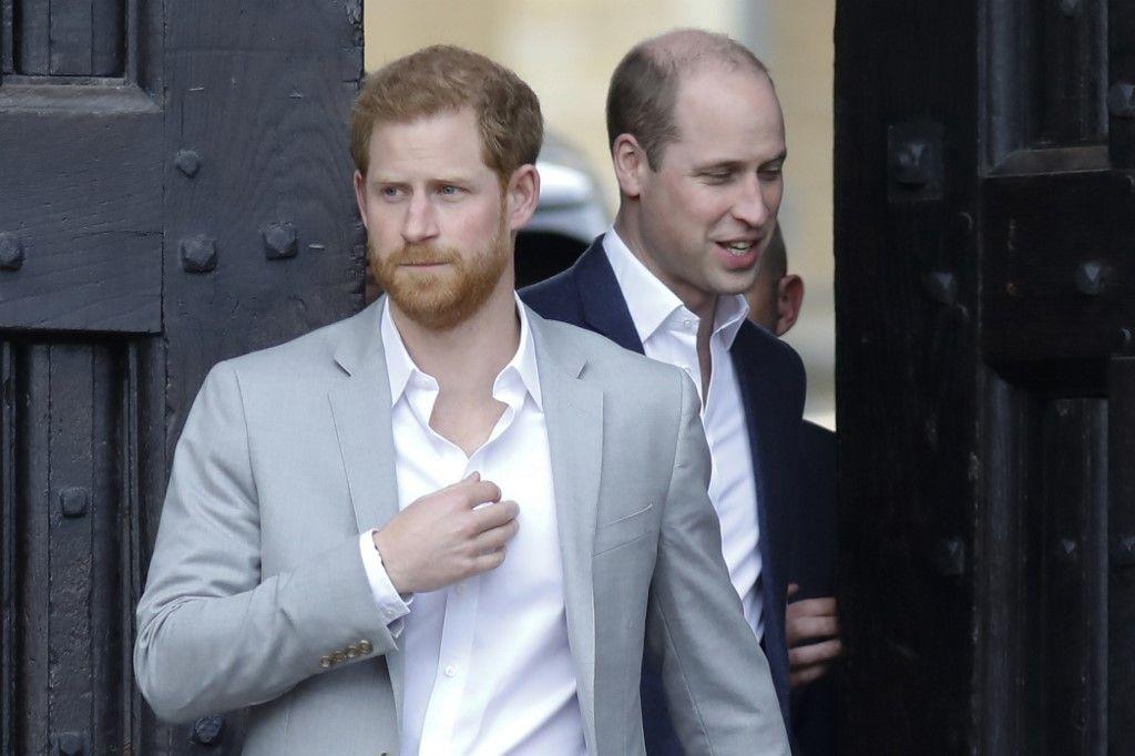 """Le prince William est """"inquiet"""" pour son frère"""