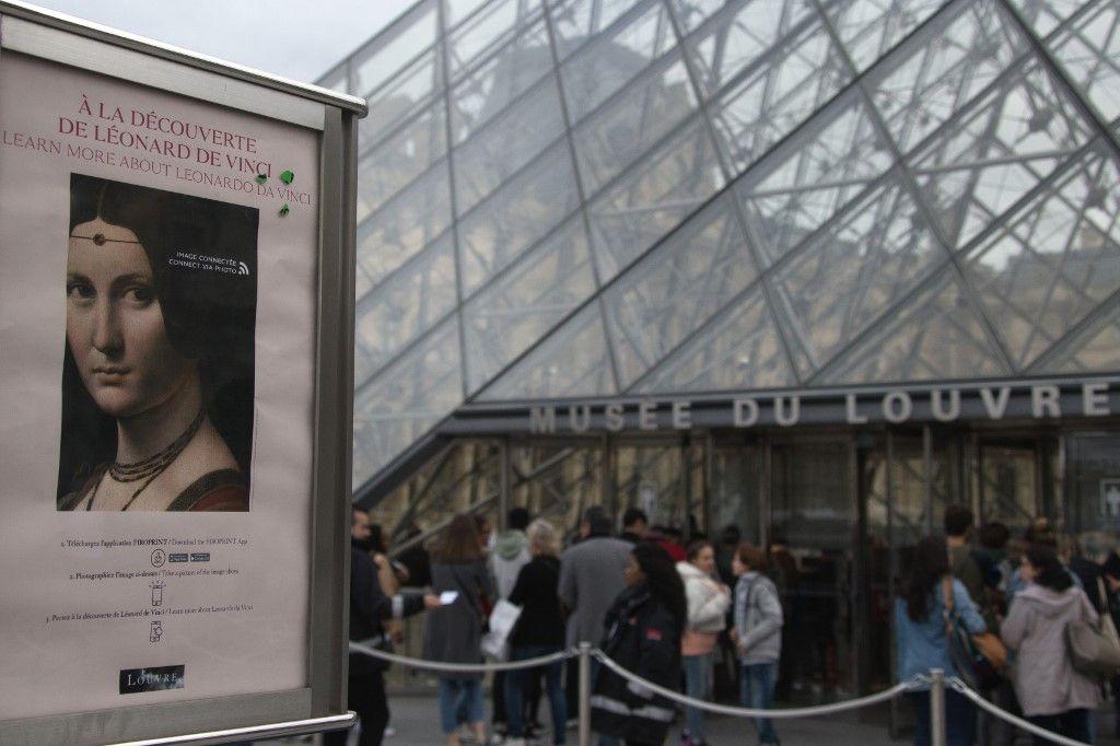 Au hit-parade du business culturel, le Louvre sort grand gagnant des vacances de la Toussaint mais il n'est pas le seul