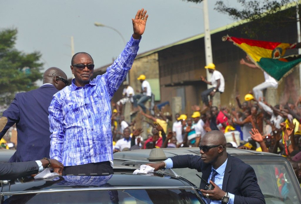 Guinée Alpha Condé élections