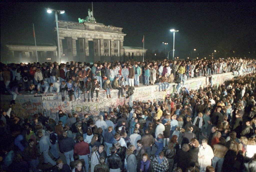 30e anniversaire de la chute du mur de Berlin