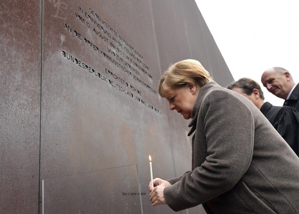30 ans de la chute du mur de Berlin : Angela Merkel encourage l'Europe à défendre la démocratie