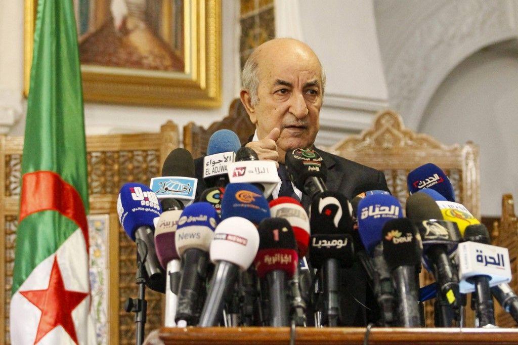 Adbdelmadjid Tebboune président algérien coronavirus covid-19