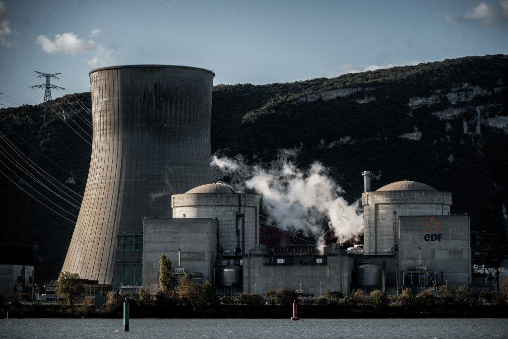 La centrale nucléaire de Cruas, le 12 novembre 2019. La hausse record des prix du gaz et du pétrole va obliger la classe politique à reconnaître l'intérêt du nucléaire.