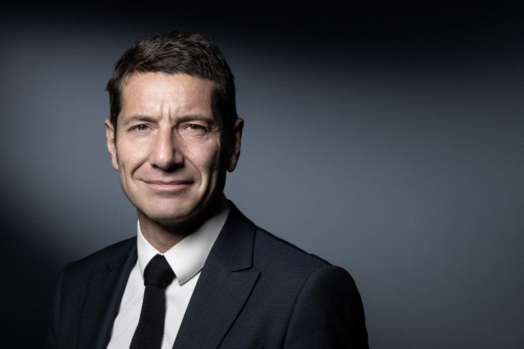 Le maire de Cannes, David Lisnard, pose lors d'une séance photo à Paris le 21 novembre 2019.