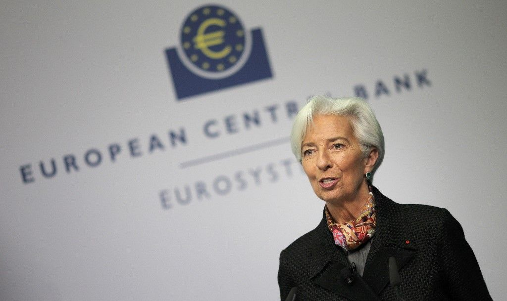 Banque centrale européenne Christine Lagarde