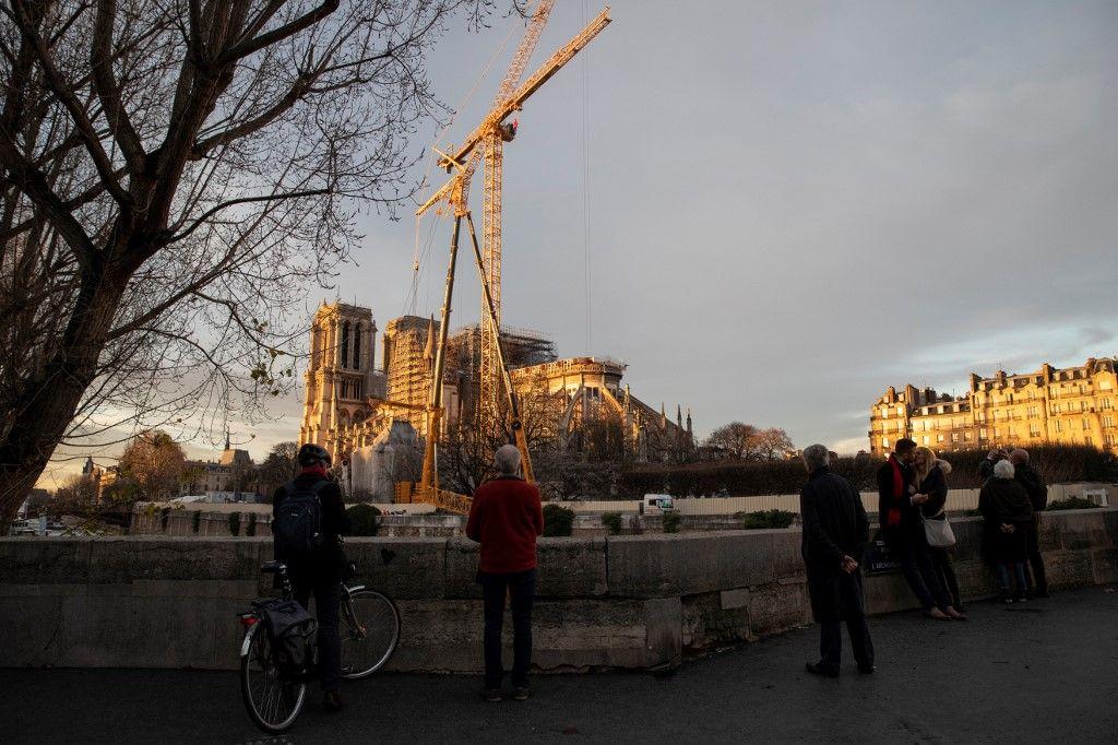 Notre - Dame : Reprise progressive du chantier